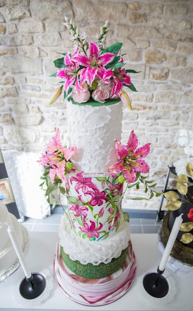 Gâteau de Luciné, artiste cake designer à Dijon