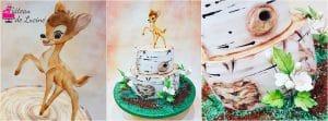 Gâteau de Luciné, montage Bambi