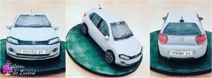 Création Gâteau Volkswagen Polo chez Gâteau de Luciné